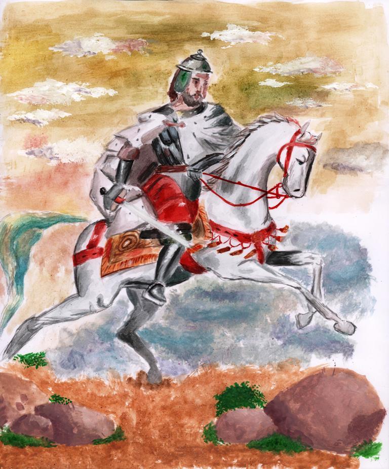 Якутская епархия подвела итоги конкурса «Александр Невский: воин, князь, святой», изображение №17