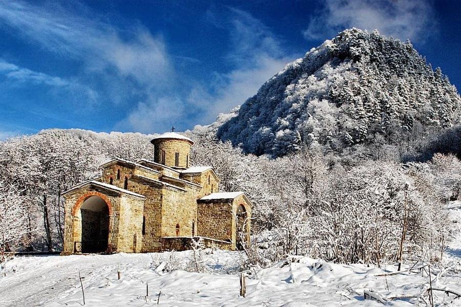 2022-01, Новогодние туры на Кавказ в январе, 7 дней (B)