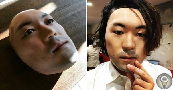 Японский художник создал гиперреалистичные маски для лица
