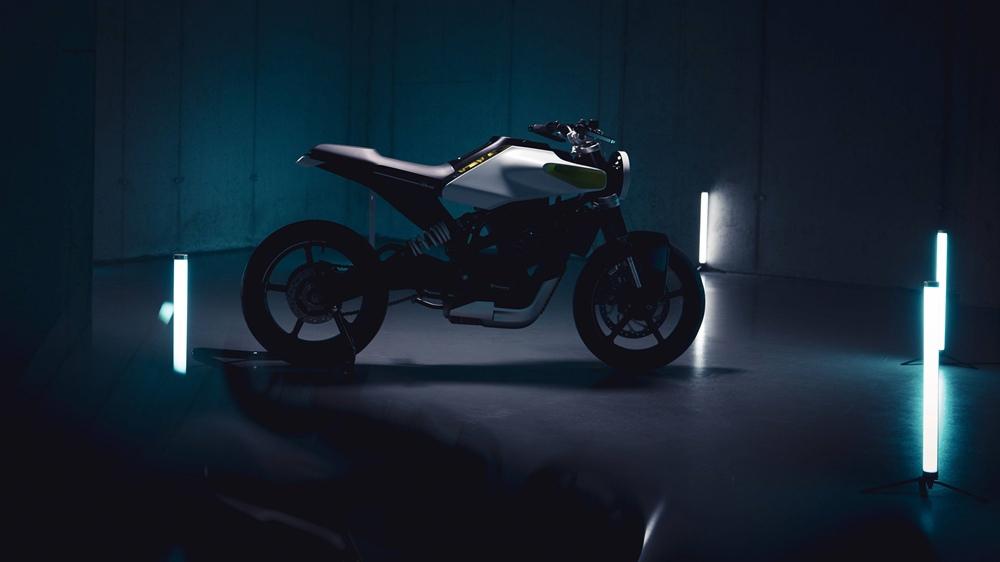 Концепт Husqvarna E-Pilen - предвестник линейки электрических мотоциклов