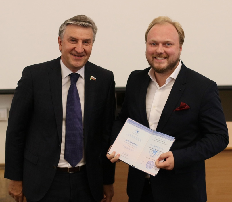 В Казанском федеральном университете вручили удостоверения социальным предпринимателям, изображение №5