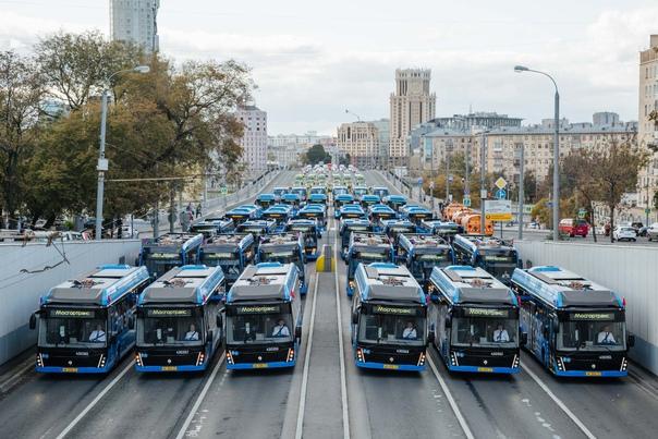 С 28 октября по 7 ноября транспорт Москвы будет ра...
