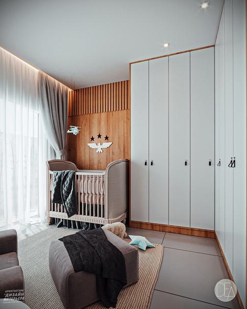 Дизайн - проект детской комнаты