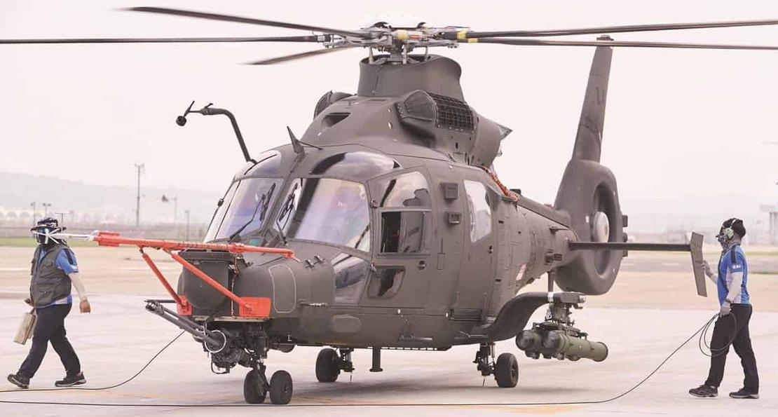Легкий вертолет из Южной Кореи