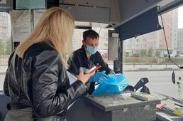 Всего двое из проверенных водителей в Липецке оказались без масок