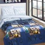 Нью-Йорк - DE LUXE  (Комплекты постельного белья)