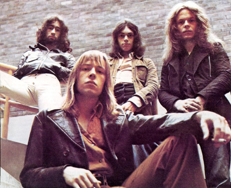 Легенды британского блюз-рока 70-х, группа FREE.