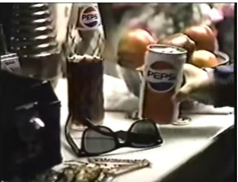 В видео мальчик - поклонник MJ, заходит в его гримёрку, неся в руках банку Pepsi. Хитрый ход режиссёров - на гримёрном столике стоит пустая наполовину бутылка Pepsi - намёк на то, что из этой бутылки пил сам Майкл. Таким образом рекламщики обошли отказ Майкла держать в руках напиток и делать глоток.