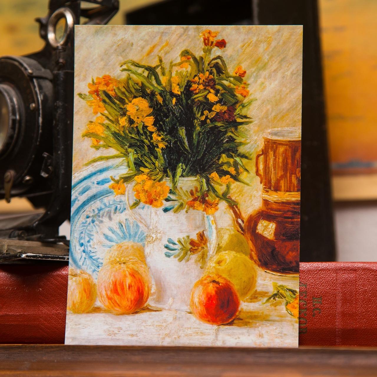 "Открытка ""still life"". Ван Гог"