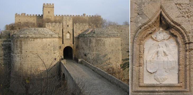 Ворота Д'Амбуаза и деталь рельефа