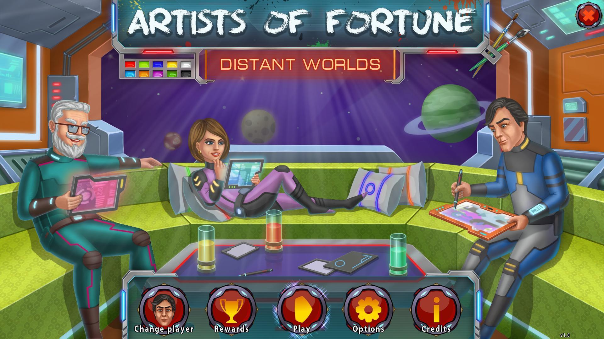 Художники удачи: Далекие миры | Artists of Fortune: Distant Worlds (En)