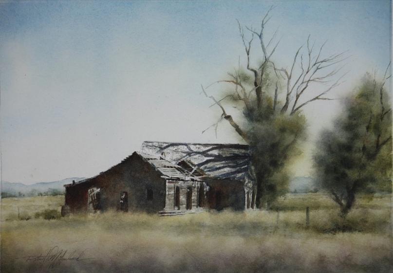 Американский художник-акварелист. Robert McFarland, изображение №5