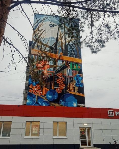 Какую красоту навели на фасаде дома по пр. Победы ...