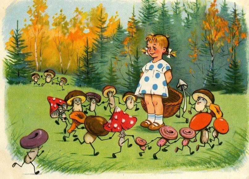 Стоит мальчик лет девяти на обочине у трассы. Продает грибы. Подъезжаем. Покупаю...