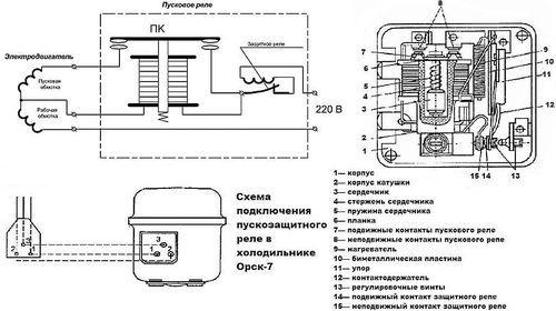 Как подключить мотор холодильника правильно, изображение №4