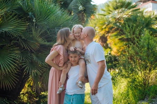 Семейная фотосессия в Гагре. 06.21