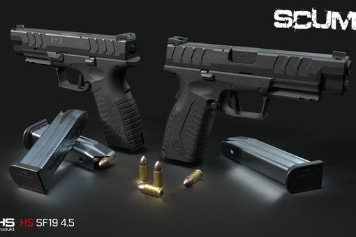 SCUM: HS SF 19 Новый пистолет. Ждем в...
