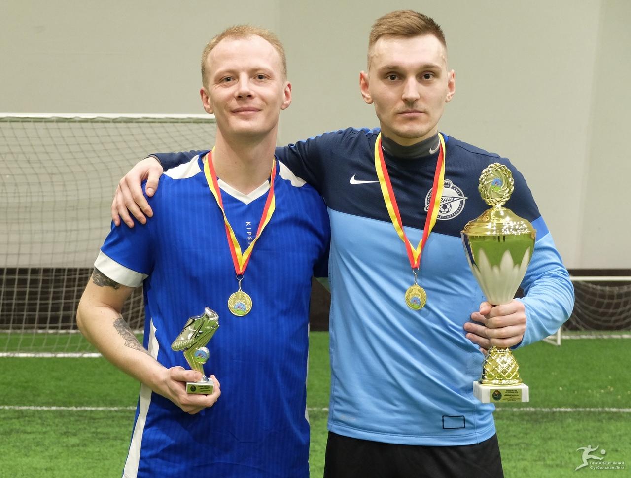 Роман Чайко и Даниил Крылов («Интернационале») — победители дивизиона Хирхасова.