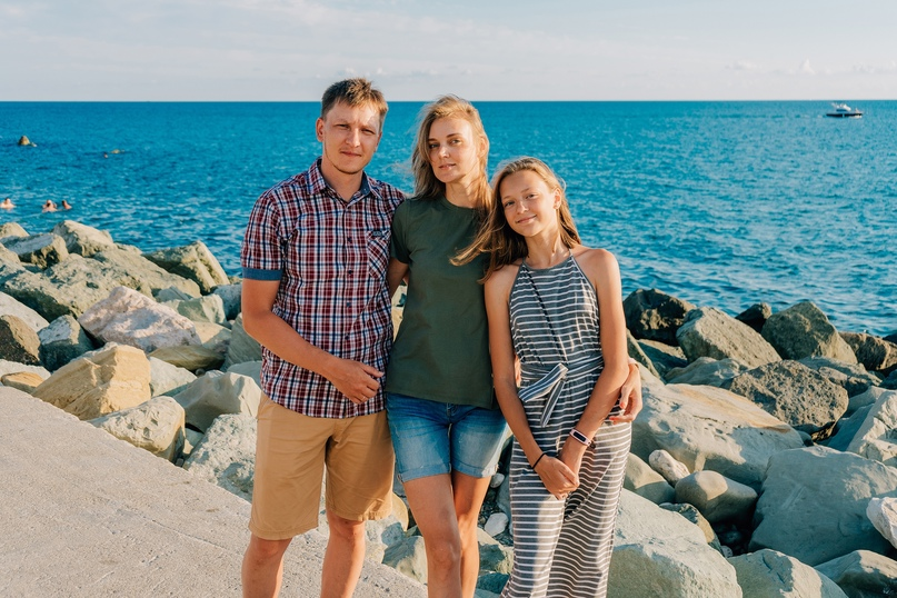 Семейная фотосессия в Адлере - Фотограф MaryVish.ru