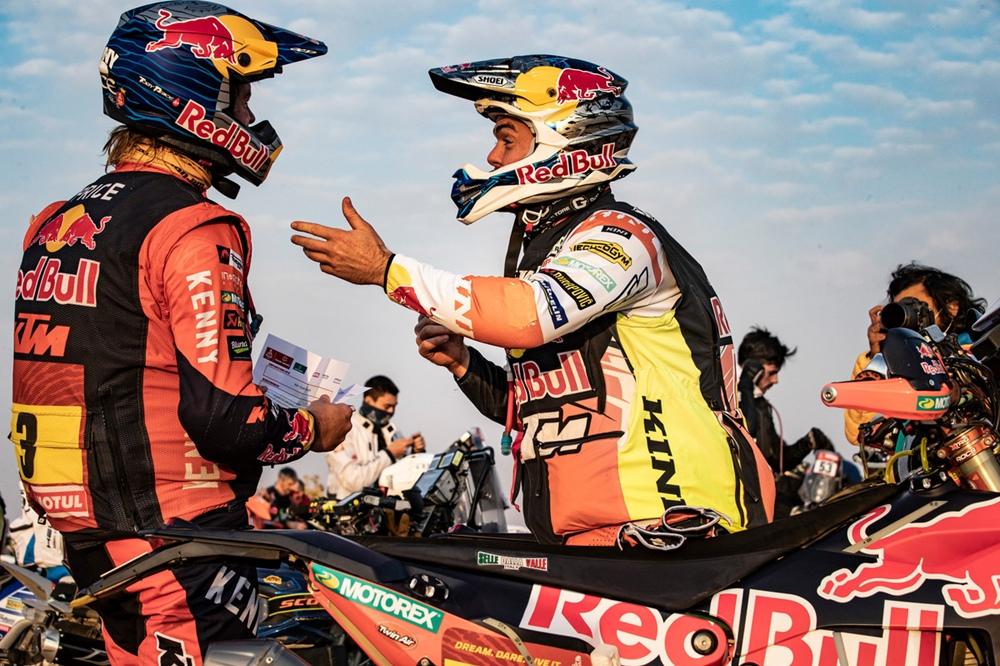 Ралли Дакар 2021: Хуан Барреда взял шестой этап, Тоби Прайс лидирует в зачете