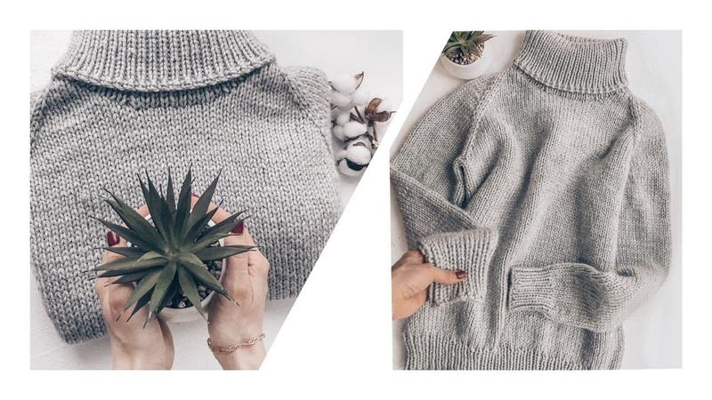 Объёмный свитер с воротником за 24 часа 24 hour sweater with a large collar
