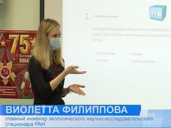 Виолетта Филиппова представитель Лабытнанги в молодёжном правительстве ЯНАО