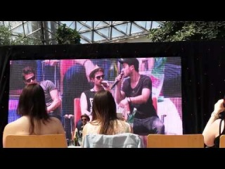 Paul Wesley, Michael Malarkey and Nate Panel at Alpha Con 2014