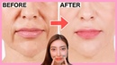 SMILE LINES, SAGGY JOWLS Facial Exercises (Nasolabial Folds/ Laugh Lines) Lift Up Saggy Cheeks!