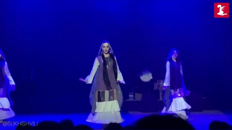 Sukhishvili in Ukraine 2020 Dance Lazuri Tsdo Samaia Otobaia Khevsuruli Juta