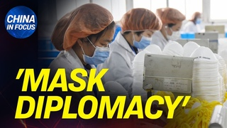 China hoards world's masks, sells them back; CCP virus is right name: poll; hospital fakes recovery