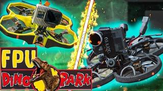 ✅ FPV DINOPARK: Geprc CineLog 25 HD vs iFlight Protek35 HD! Парк Динозавров в Запорожье! 🦕🔥
