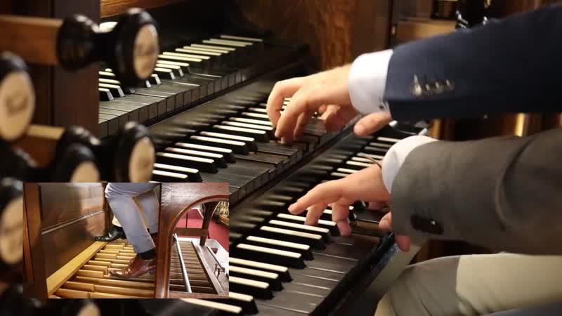 80 (1) J. S. Bach - Ein feste Burg ist unser Gott, BWV 80 - Mark Brandwijk Reinier Korver, organ