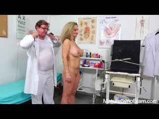 Mature Gyno Exam - Ameli Monk - Rectal speculum exam of busty MILF Ameli Monk