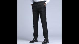 Летние мужские брюки, мужской деловой черный костюм, брюки drees, мужские тонкие повседневные брюки, мужские прямые костюмные