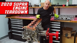 2020 Supra B58 Engine Teardown - First Look - Better than the 2JZ?
