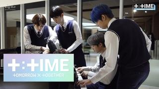[T:TIME] TXT playing the piano - TXT (투모로우바이투게더)