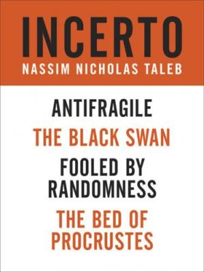 Incerto 4-book bundle  fooled by randomness the black swan the bed of procrustes antifragile by Taleb, Nassim Nicholas