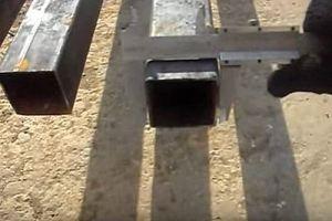 Калитка из металлопрофиля своими руками – схема + порядок выполнения работы, изображение №25
