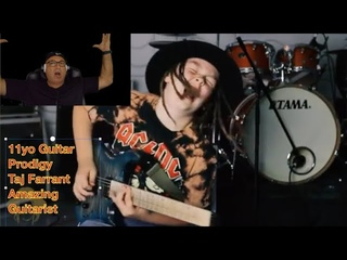 Taj Farrant - Guitar Prodigy Reaction video