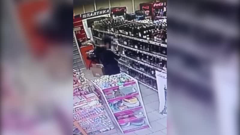 Медицинская маска не помогла ночному грабителю