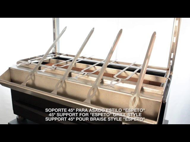 Pira Charcoal Ovens New BBBQ Robata Shashlik Espeto