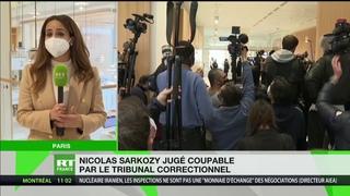 Affaire des «écoutes» : reconnu coupable, Nicolas Sarkozy condamné à un an de prison ferme