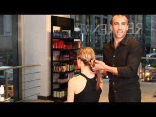 How To Create An Updo Braiding and Twisting Hairstyle For 2013