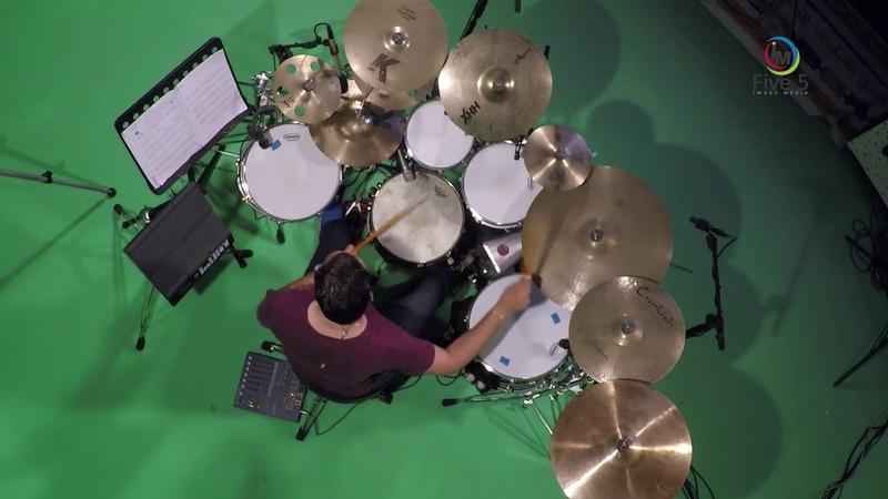 Michel camilo caribe cover drum by Amine hasnaoui jazz latin