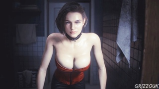 Resident Evil 3 Remake Jill Valentine In Hot Red Corset PC Mod