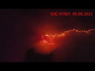 Пожар В Горном улусе село Бэс Күөл!!! Якутия