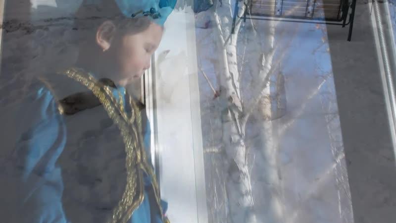Читаем М. Карима: Ахтямова Гульназира, 4 года.