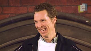 Benedict Cumberbatch reads a letter about crabs (not the kind you eat)