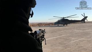 Воздушное патрулирование силами армейской авиации России в Сирии