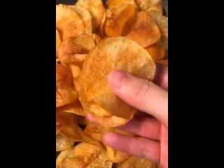Вкусные домашние картофельные чипсы -